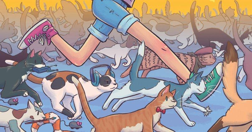 Cat Girl? A Kinder, Gentler Superhero Comic