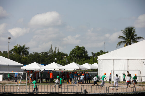 Forensic Architecture had planned to examine conditions at a federally funded shelter in Homestead that had held migrant children and had become the subject of intense criticism in 2019.