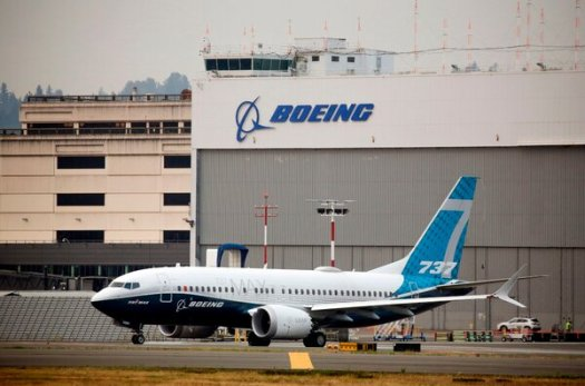 Boeing saidthat it had received orders for 90 new planes in December, after its 737 Max was allowed to fly again.
