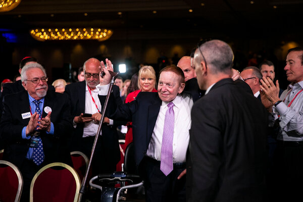 The death of Sheldon Adelson leaves Republicans without a crucial benefactor.