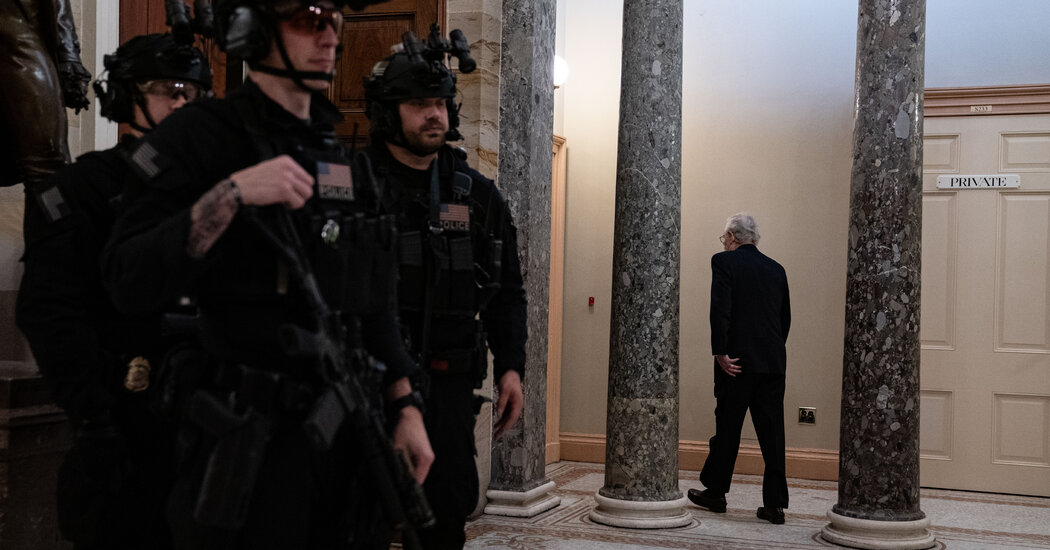 McConnell Privately Backs Impeachment as House Moves to Charge Trump