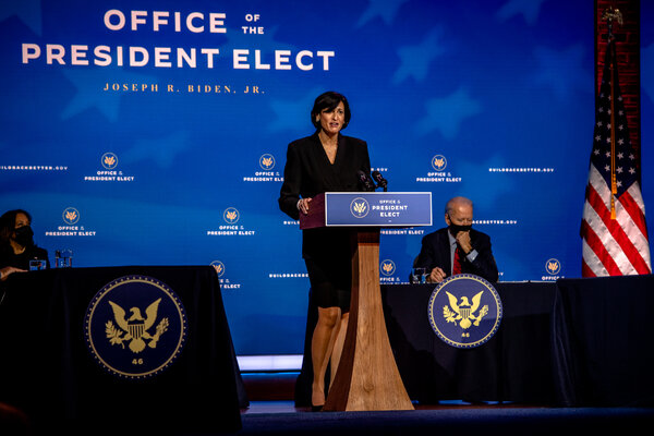 Dr. Rochelle P. Walensky is President-elect Joseph R. Biden Jr.'s nominee to lead the Centers for Disease Control and Prevention.
