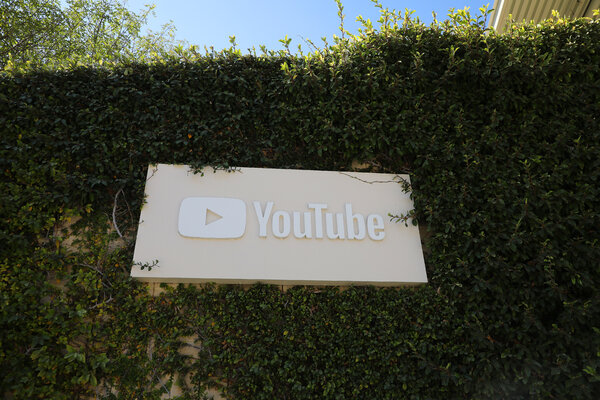 YouTube headquarters in San Bruno, Calif.