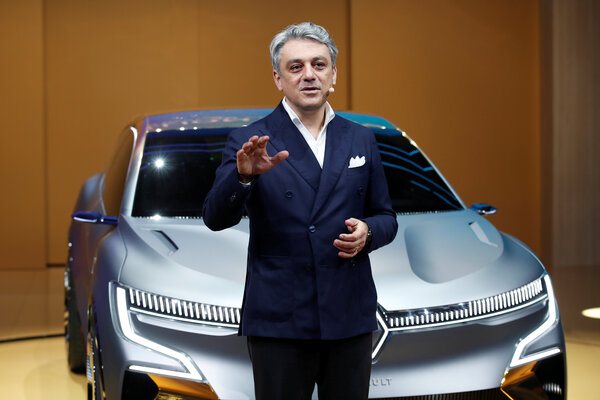 "Luca de Meo, the chief executive of Renault, said the carmaker would go from ""simply surviving the storm to putting the company in better shape than it has ever been before."""