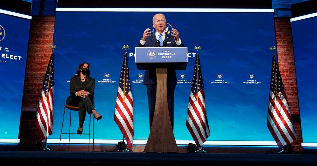 Biden's Plan – The New York Times