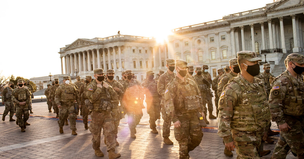 Inaugural Security Is Fortified in D.C. as Military and Police Links Are Eyed in Riot