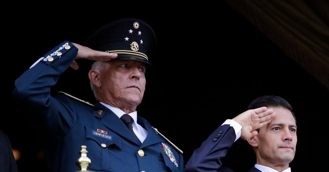 Mexico Clears Salvador Cienfuegos, Ex-Defense Minister, in Drug Case