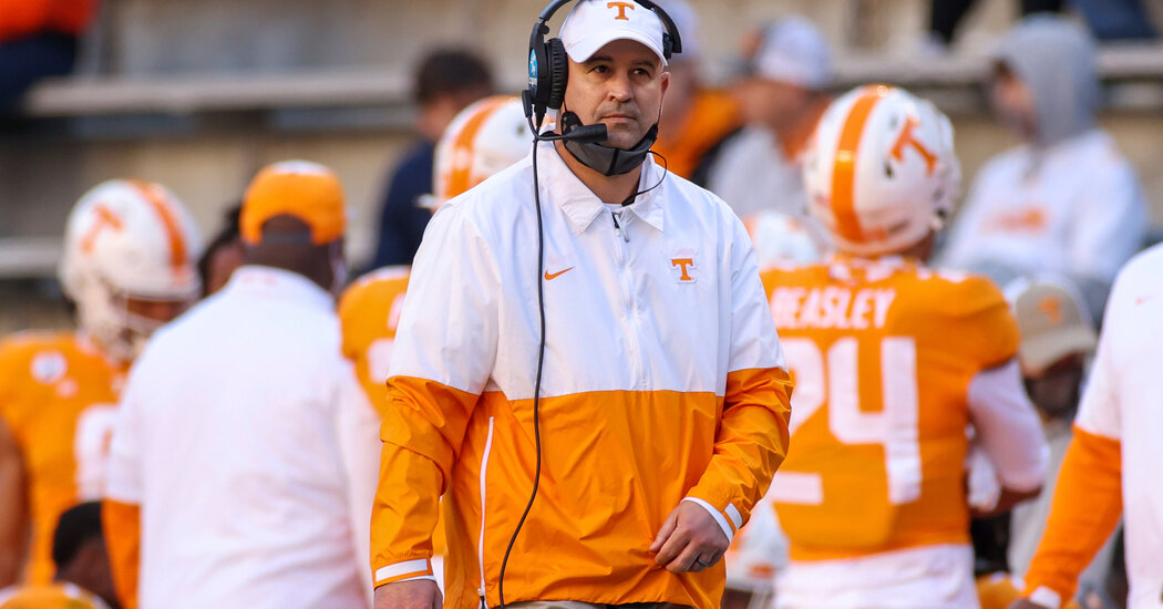 Tennessee Fires Football Coach Amid Investigation