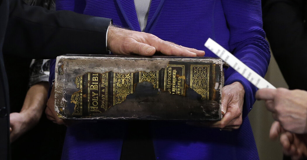 Biden's Bible has been in his family since the 1890s.