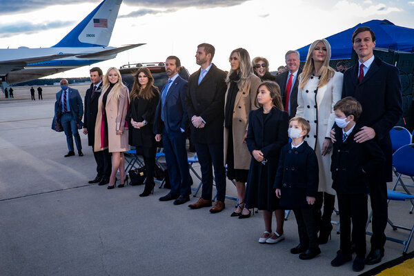 Donald J. Trump extended Secret Service protection for his adult children, among others, for six months.