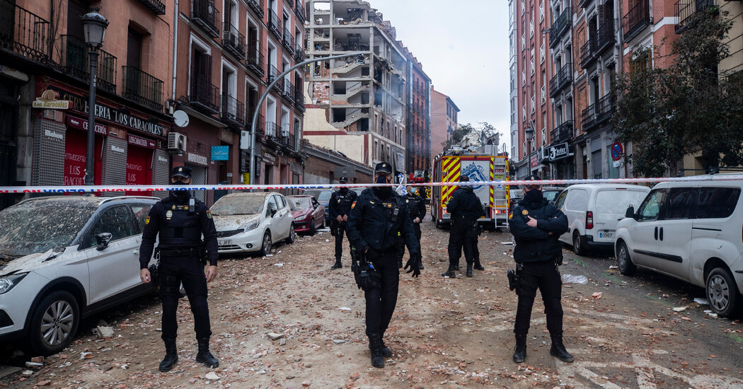 Madrid Explosion Leaves at Least 3 Dead