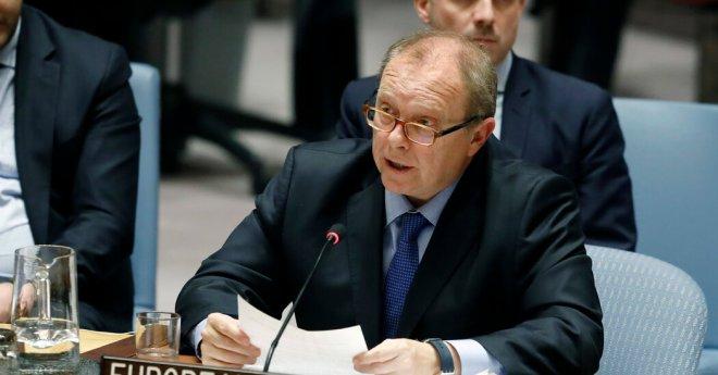 E.U. and U.K. in a Diplomatic Spat Over Ambassador's Status