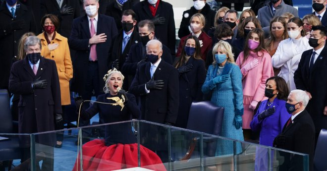 Lady Gaga and Jennifer Lopez Led a Musically Earnest Inauguration
