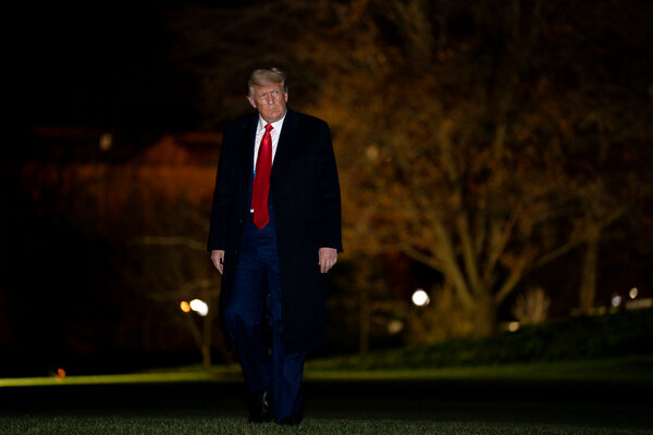 President Trump said on Tuesday that the government should distribute $2,000 in direct payments to Americans.