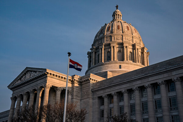 """A Missouri state senator who had said it was """"my choice if I want to risk getting Covid"""" recently tested positive for the virus."""
