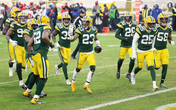 Packers cornerback Jaire Alexander intercepted Tom Brady on back-to-back possessions in the fourth quarter.