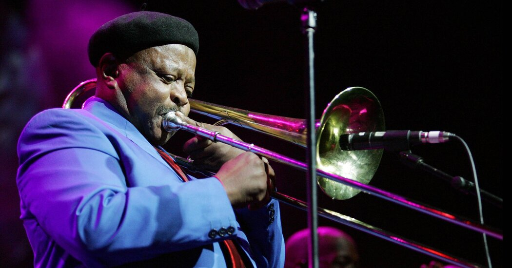 Jonas Gwangwa, Trombonist and Anti-Apartheid Activist, Dies at 83