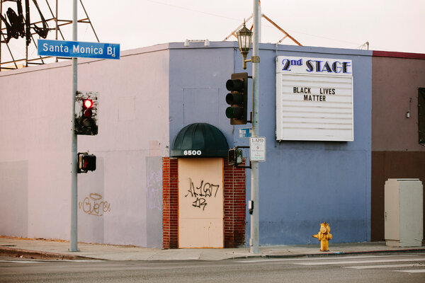 A shuttered business in Los Angeles. It may take years to return to the pre-pandemic levels of employment.