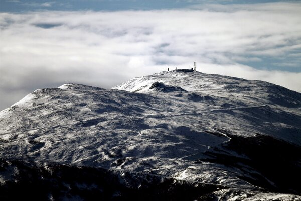 """The Mount Washington Observatory and summit in New Hampshire. In the winter it becomes an """"arctic island,"""" said an observatory manager."""