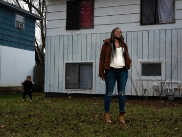 """Shacarey James was pregnant when she reported to Danbury to serve nine months for a parole violation. """"It was not right how I was treated,"""" she said. """"There was no consideration for my being pregnant."""""""