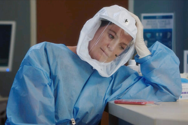 """Grey's Anatomy"" opted to embrace coronavirus story lines, even infecting its main character, Meredith Grey (Ellen Pompeo)."