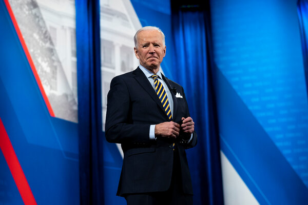 President Biden signaled on Tuesday during a CNN town hall that he was open to targeted approaches to immigration overhaul.