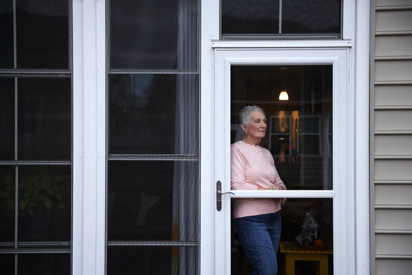 Lorraine Wilner, a 78-year-old retiree with metastatic breast cancer, at her home in Lancaster, S.C. Instead of making longer drives into North Carolina as frequently, she can now have her blood drawn at a lab near her home and review the results with researchers over a video call.