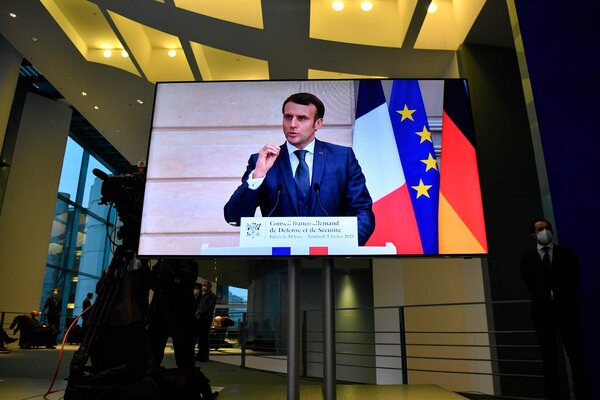 President Emmanuel Macron of France has spoken publicly about the importance of dialogue with Moscow.