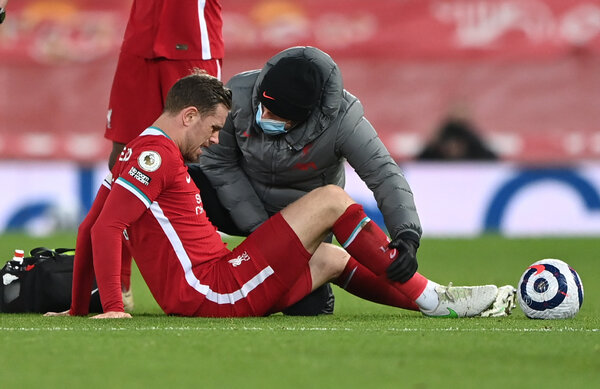 Jordan Henderson became the latest unavoidable Liverpool player lost to injury.