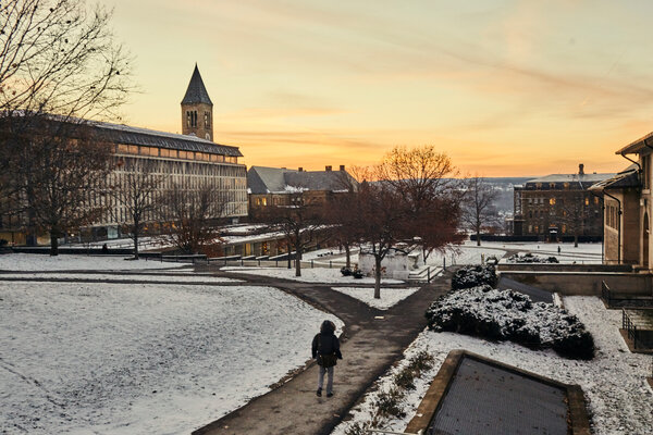 Applications have soared at Cornell University, which dropped its requirement for standardized test scores during the pandemic.