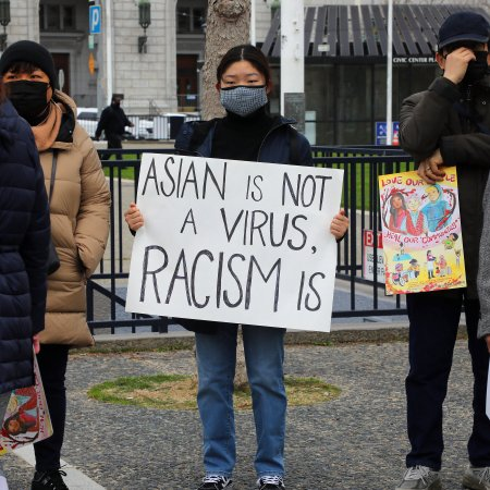 Opinion   A Rise in Hate Crimes Against Asian-Americans and Others - The New York Times