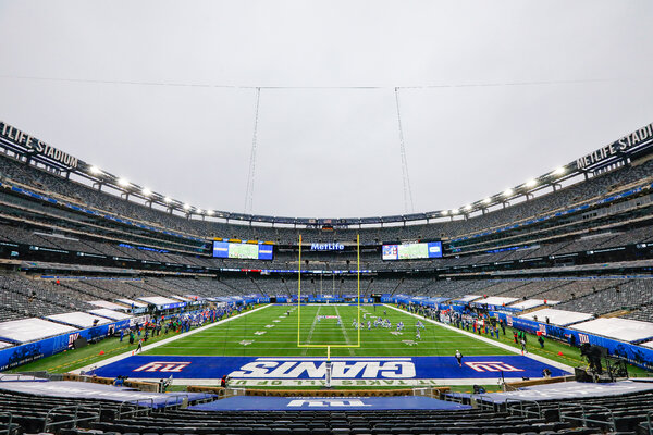 Gov. Philip D. Murphy of New Jersey will allow 10 percent seating capacity at indoor sports and entertainment venues with 5,000 or more seats, and 15 percent at outdoor venues.