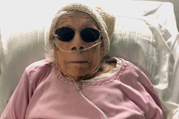Lucia DeClercktested positive for the virus on her 105th birthday, one day after her second vaccine shot.