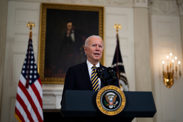 The airstrikes authorized by President Biden were meant to punish the perpetrators of the rocket attack but not to escalate hostilities with Iran, the Pentagon said.