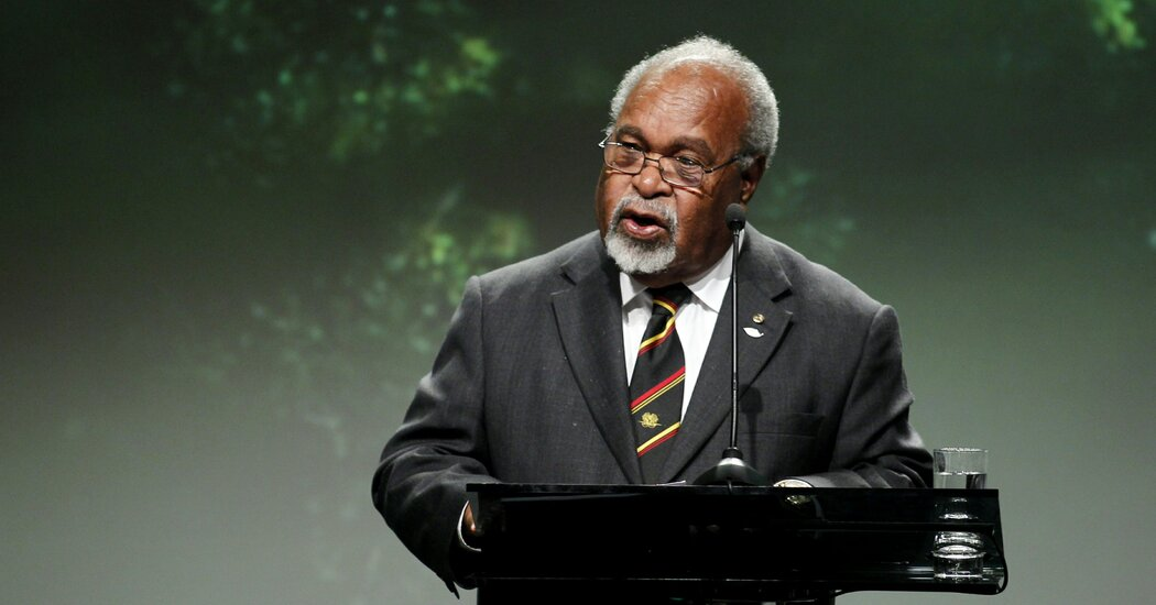 Michael Somare, Papua New Guinea's 'Father of the Nation,' Dies at 84