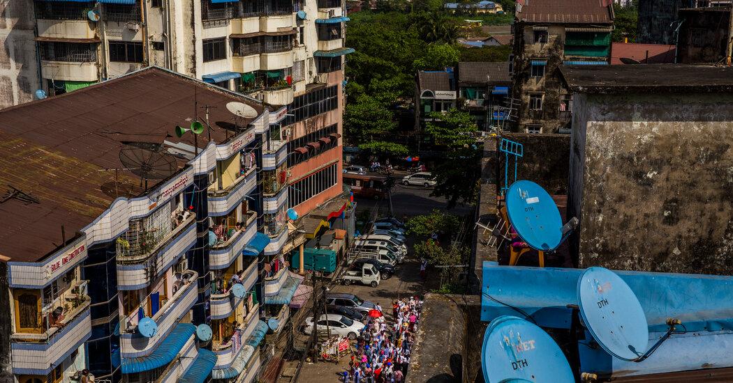 Myanmar's Military Deploys Digital Arsenal of Repression in Crackdown
