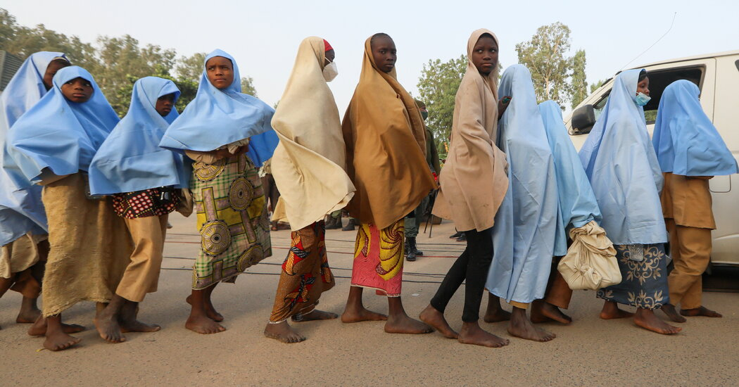 Hundreds of Girls Kidnapped From Nigerian School Are Freed, Official Says