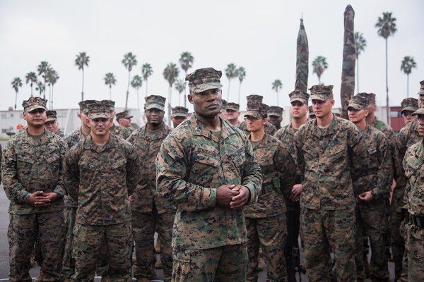 Col. Anthony Henderson in 2016 at Camp Pendleton in California.