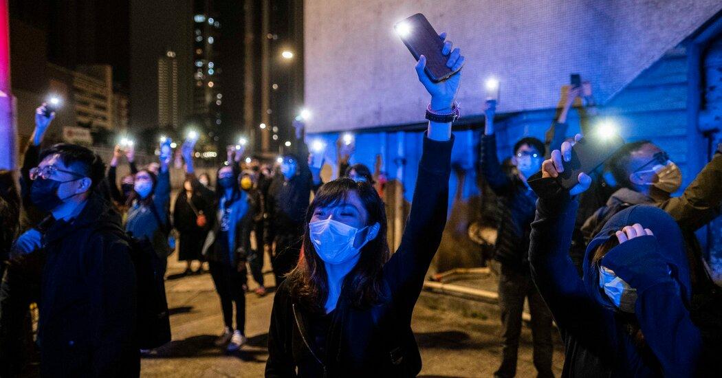 Demanding loyalty, China takes steps to review Hong Kong elections