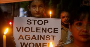 Women ask India's Supreme Court President to leave after he asked the rapist to marry