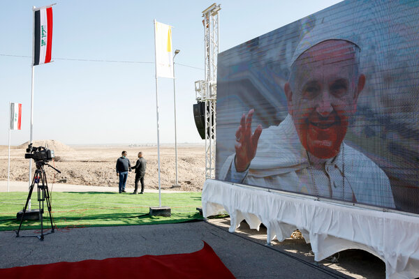 From Najaf, Pope Francis traveled to the ruins of Ur, one of the world's oldest civilizations.