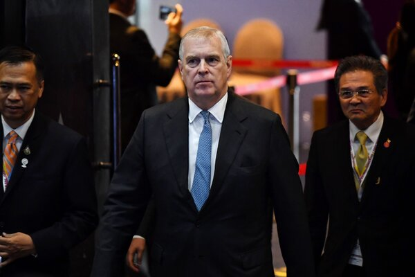 Prince Andrew remains in exile from public duties.