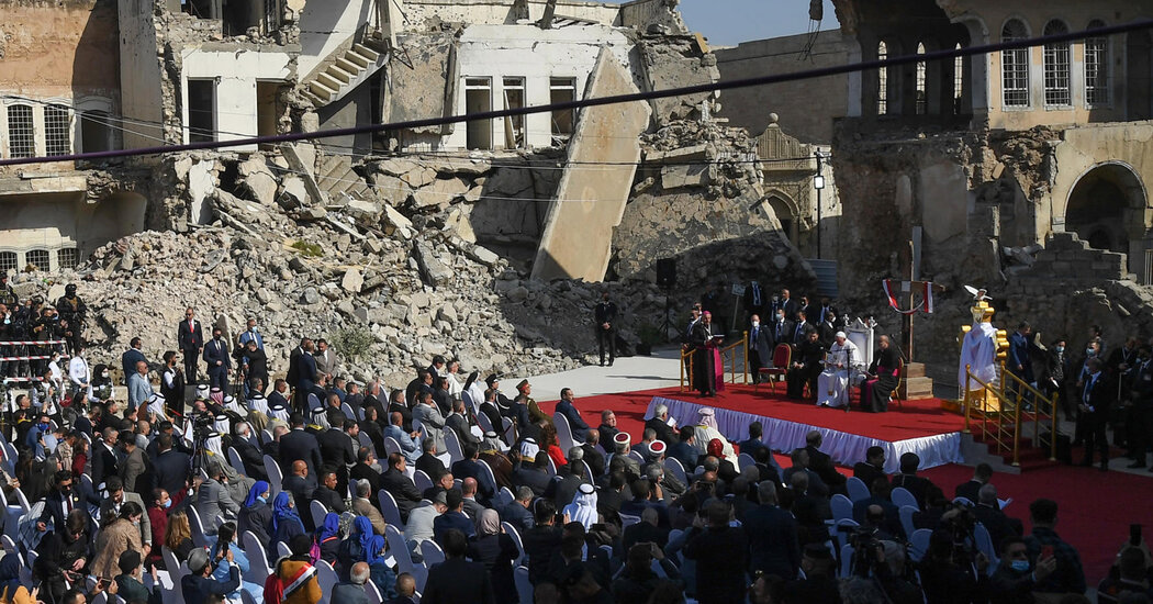 Pope Francis Offers a Salve for Iraq's Wounds