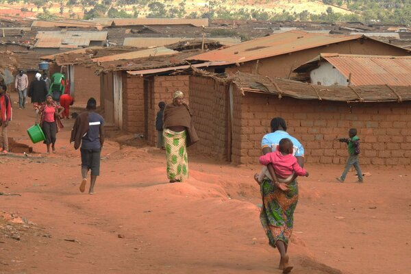 A Malawi refugee camp in 2018. Hundreds of refugees had flights to the United States canceled because the Biden administration hasn't yet lifted a ceiling on admissions.