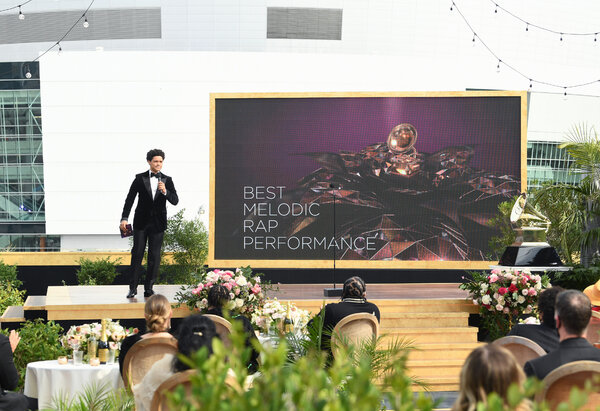 The Grammy Awards managed to pull off a ceremony that did not need to rely on Zoom.