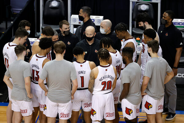 Coach Chris Mack's Louisville team, which just missed making the field for the NCAA Tournament, would be the first team called as a team unable to earn a berth.