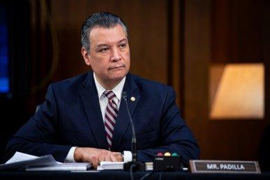 """""""The stars are aligned to make progress on immigration,"""" Senator Alex Padilla, Democrat of California, said in an interview."""