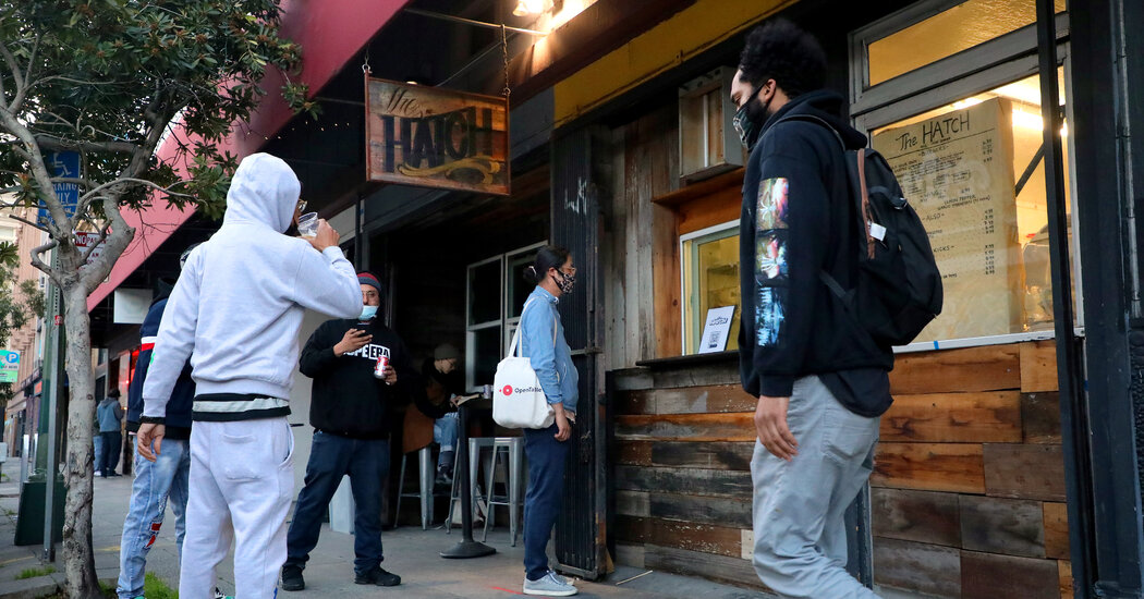 Beer Here, Bouquets Next Door: How a Bar Defied the Pandemic