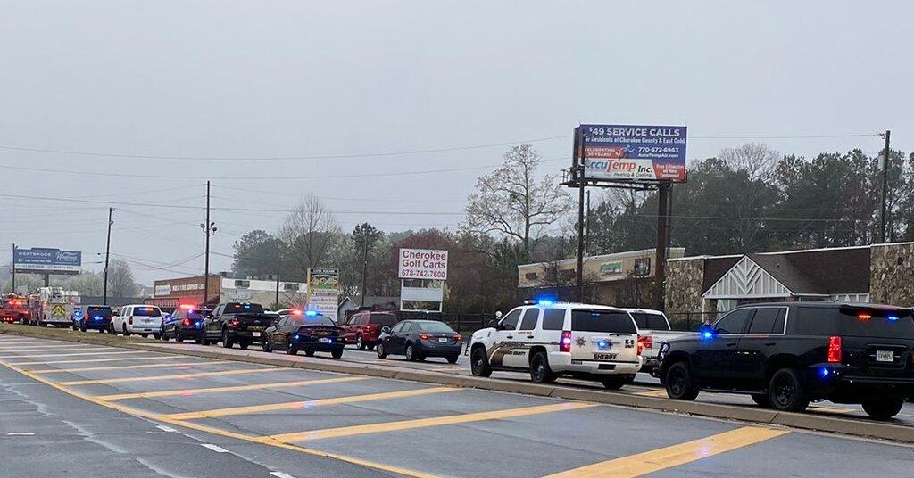 7 People Killed in Atlanta-Area Massage Parlor Shootings