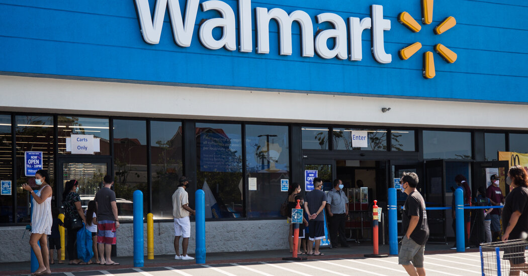 Walmart becomes largest U.S. vaccine provider to join push for digital vaccination credentials.